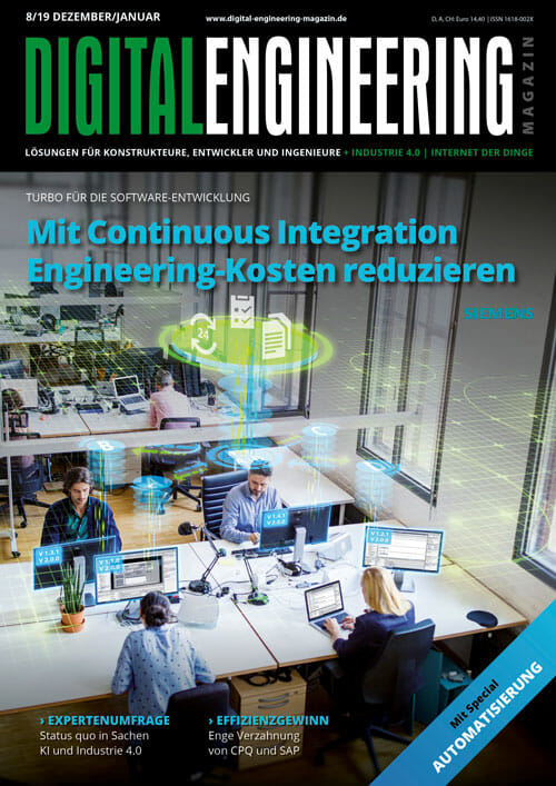 Digital Engineering Magazin 08/2019